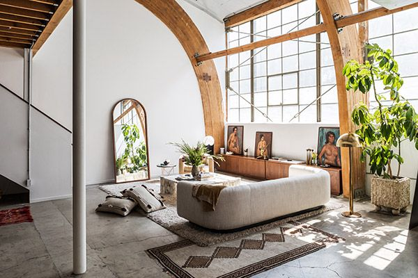LA Loft Of Sally Breer. Find This Pin And More On Precious Living ...
