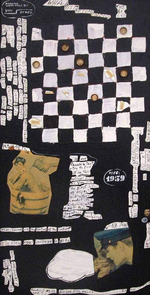 Arthur Köpcke, Reading-Work-Piece, 1963