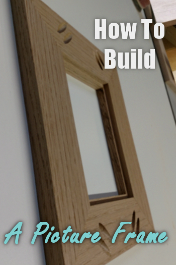 Build A Picture Frame You'll Love - Simple How-To DIY With Pictures #woodworkingprojectschair