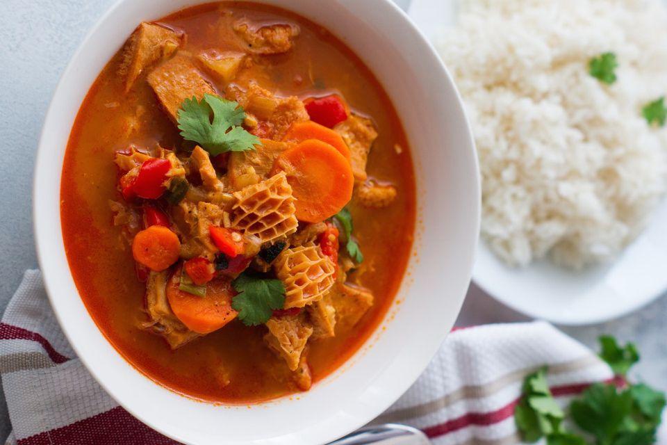 Caribbean Beef Tripe Soup Recipe in 2020 Beef tripe
