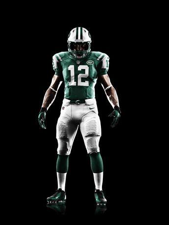 9f1bee01 NEW YORK JETS 2012 NIKE FOOTBALL UNIFORM | NFL | Nfl uniforms ...