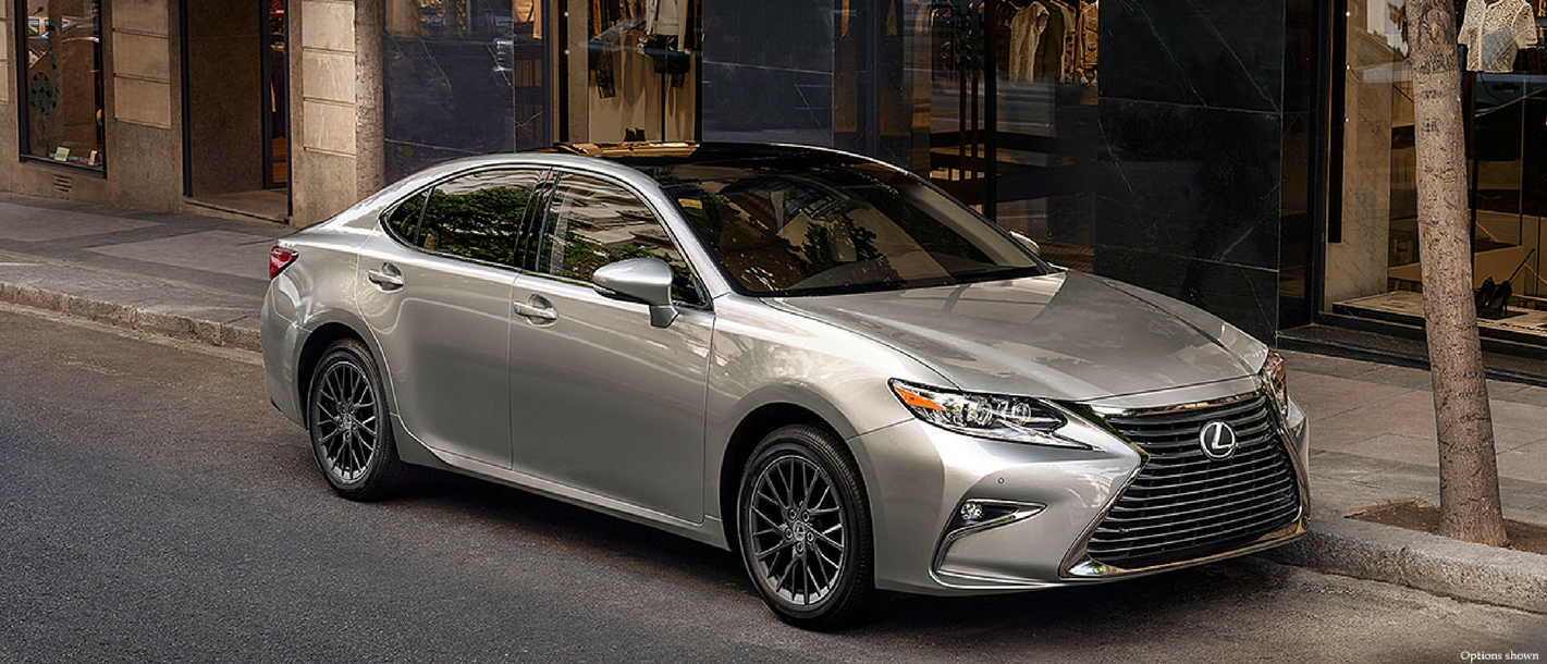 The 2018 Lexus Es 350 And Hybrid Available At North Park Dominion