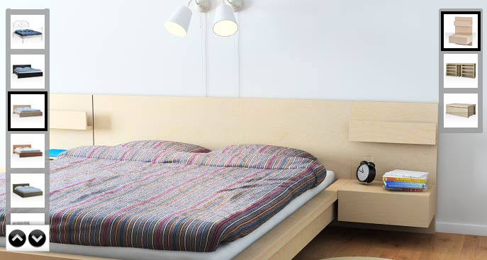 249469c95 ikea malm - king size with nightstands | master bedroom | Closet ...