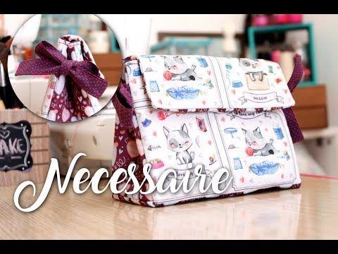 442) Passo a Passo - Necessaire Lacinhos - YouTube   tašky-taštičky ...