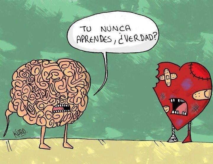 Corazón vs mente