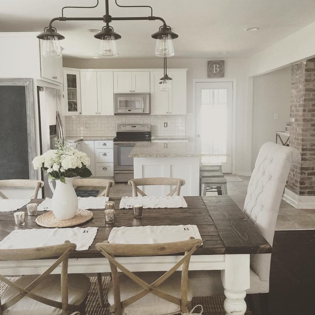 45++ White farmhouse kitchen table with bench info