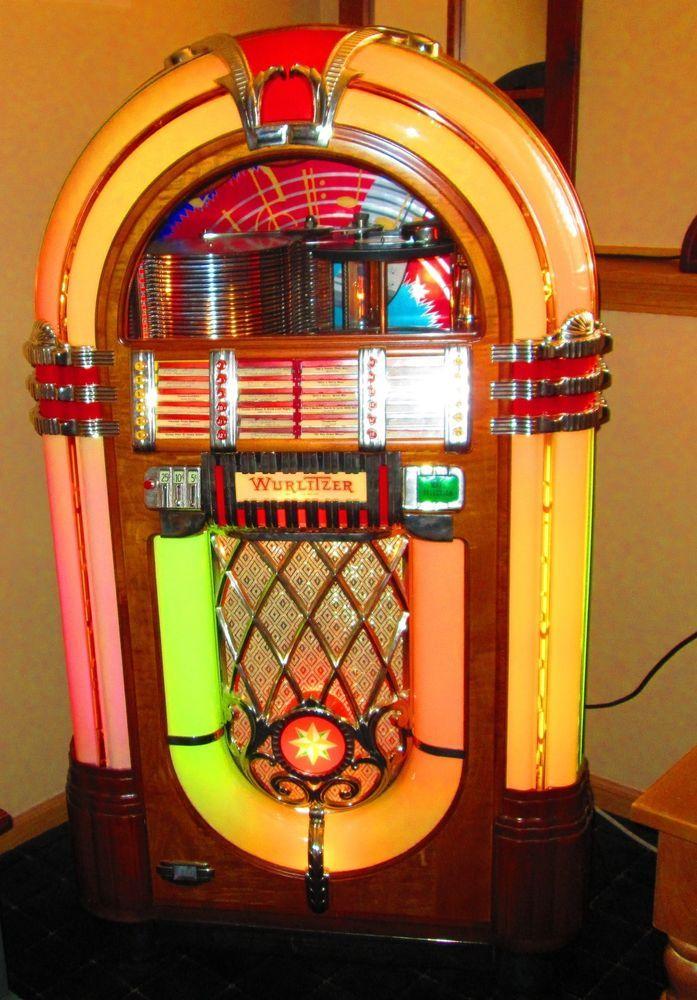 1946-1947 Wurlitzer 1015 Jukebox Bubbler fully restored