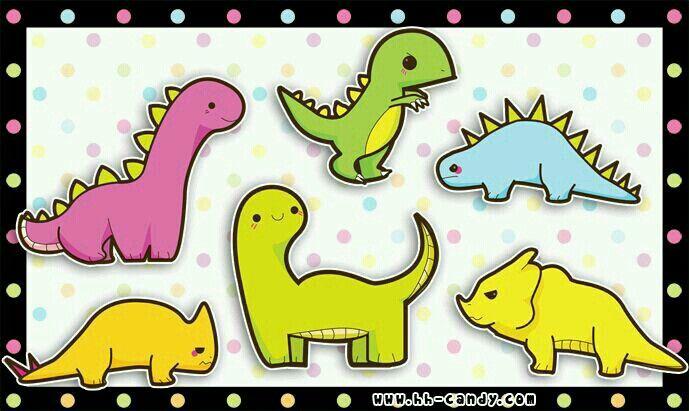 Dinosaurios Kawaii Cute Sketches Cute Images Little Kitty ¡puedes recrear cada dibujo tal como se muestra o dejar volar tu imaginación y rugir como un dinosaurio! dinosaurios kawaii cute sketches