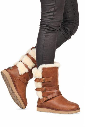 b8de2f5d1e9 Ugg boots Becket chestnut koop je online bij MooieSchoenen.nl ...