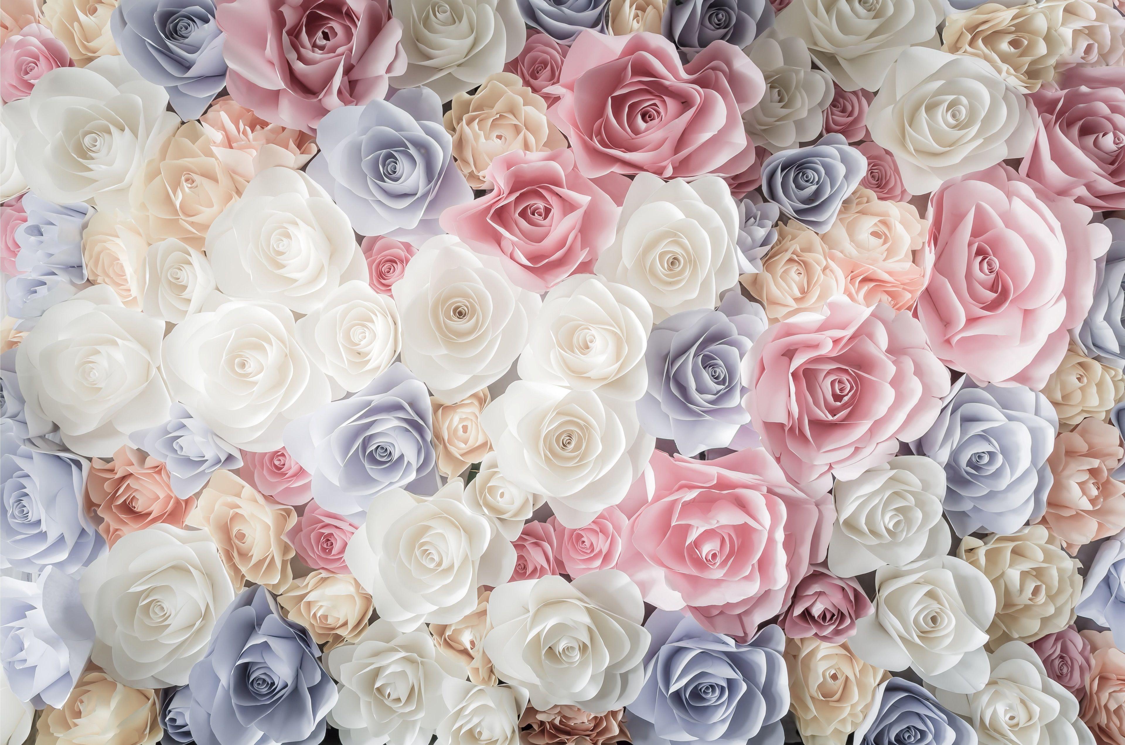 Обои пыльно розовые