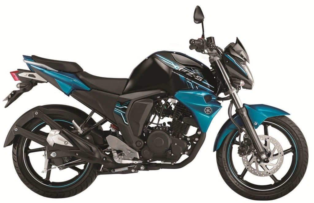 Yamaha Fz S Fi V2 0 Color Astral Blue 4 Yamaha Bikes Yamaha Fzs Fi