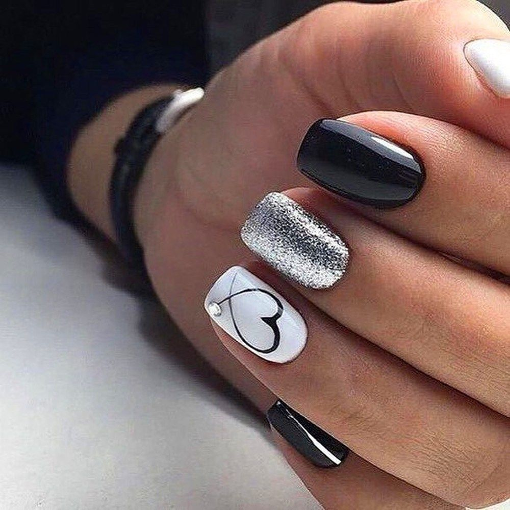 25 Cute Winter Nail Art Designs for Secretary - Explore Dream Discover Blog
