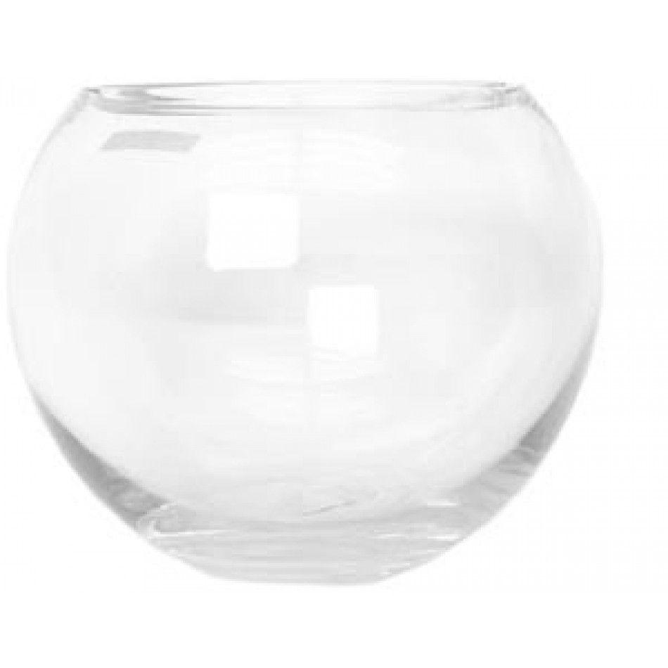 Bubble Bowl Centerpiece Vase H-4.5 Open D-4.25 (Case of 18 = $4.33 ...