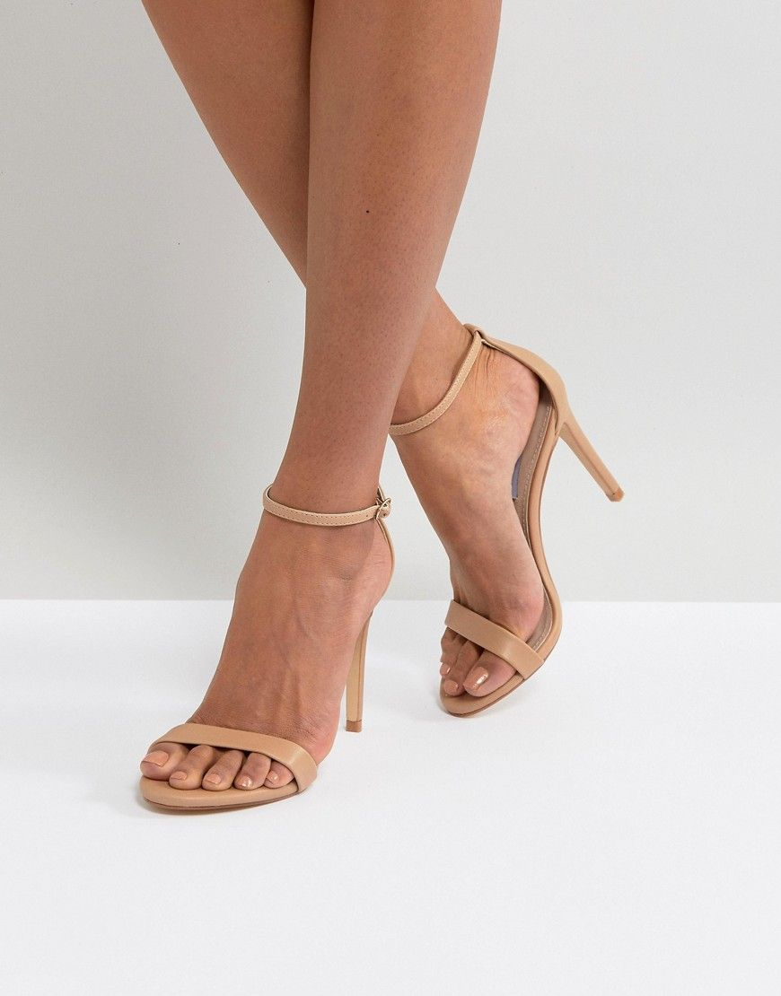 c6d49c8592 STEVE MADDEN STECY NUDE BARELY THERE SANDALS - BEIGE. #stevemadden #shoes #