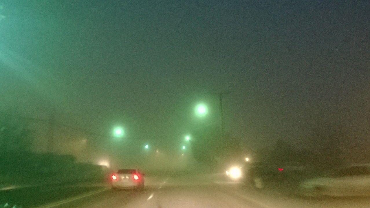 Leaving Stop-n-Shop early in the morning... It's nice and foggy outside love this weather #MyHometownPins