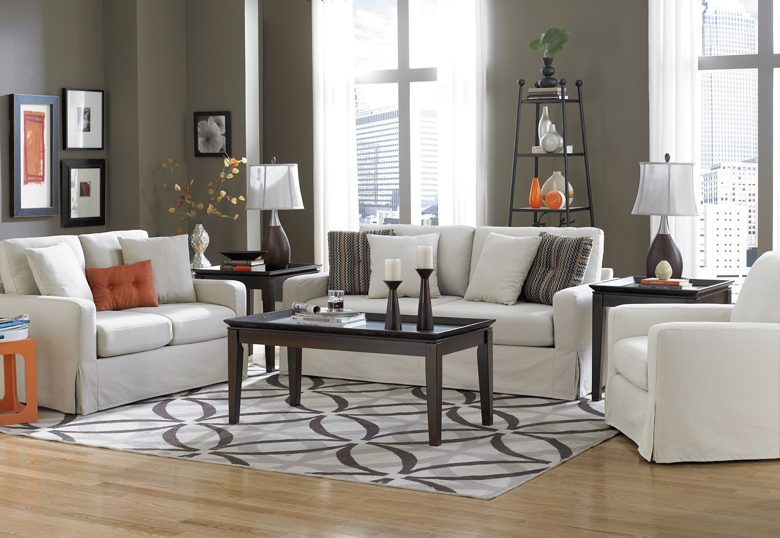 modern living room rug - interior | home interior & decorating