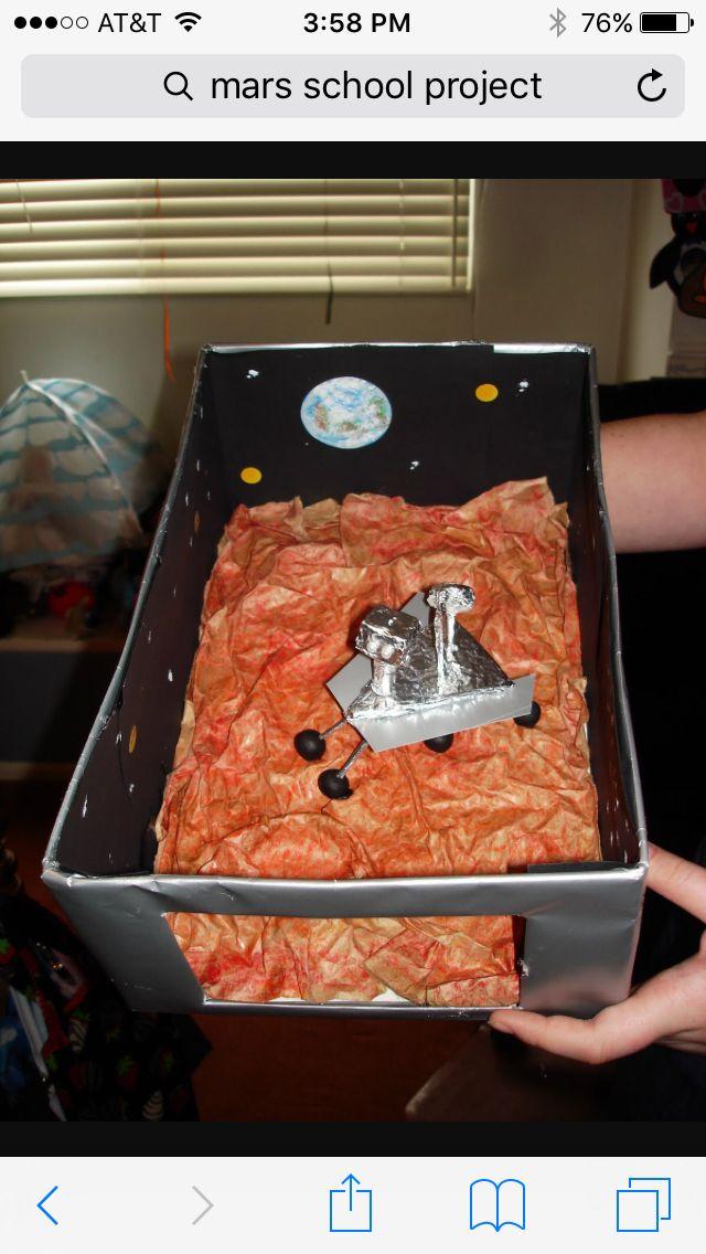 Mars rover diorama Mars project Mars planet Mars solar