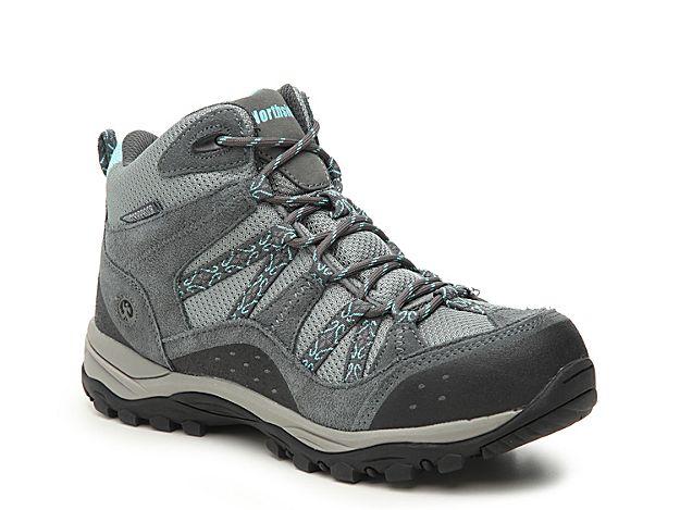 Women Freemont Hiking Boot -Grey/Black/Light Blue