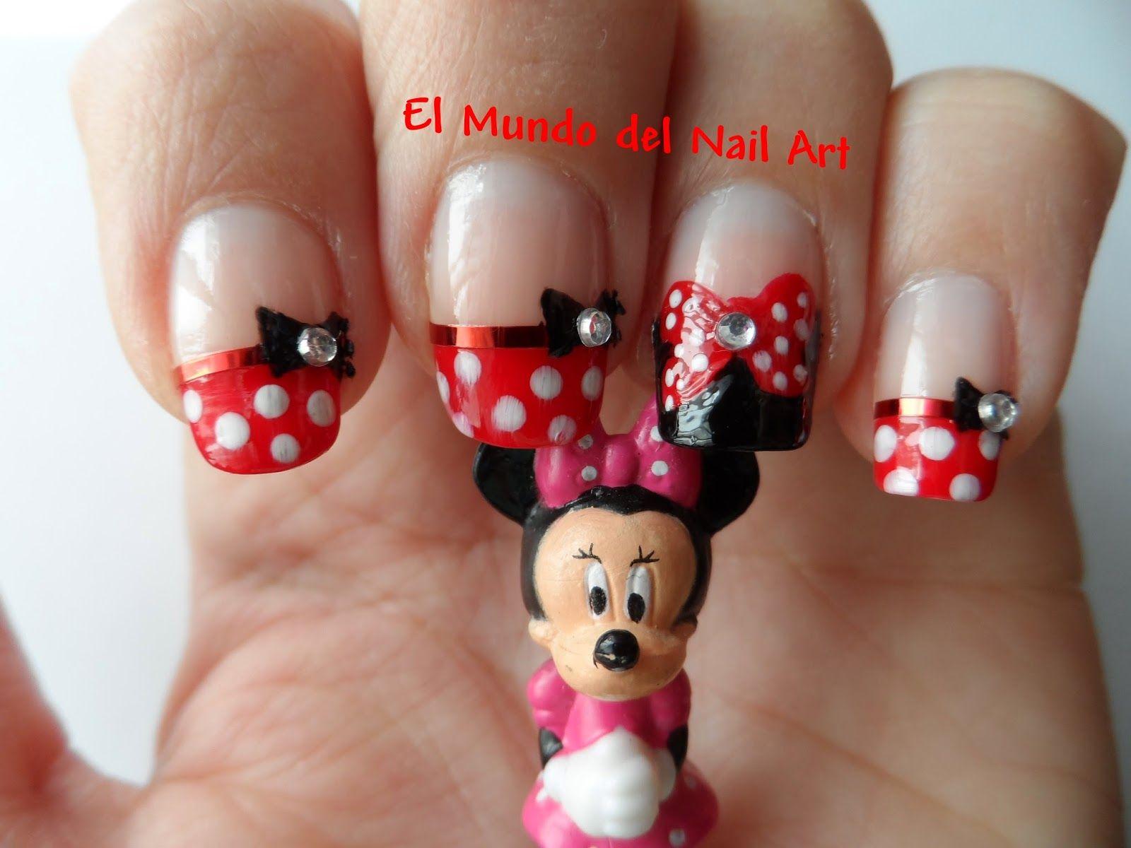 minnie mouse escribiendo - Buscar con Google | diseño de uñas de ...