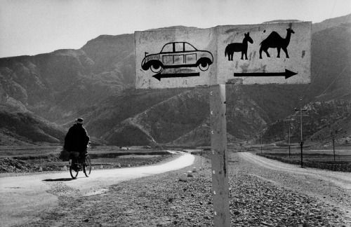 Marc Riboud. Road to Khyber Pass. Afghanistan. 1956