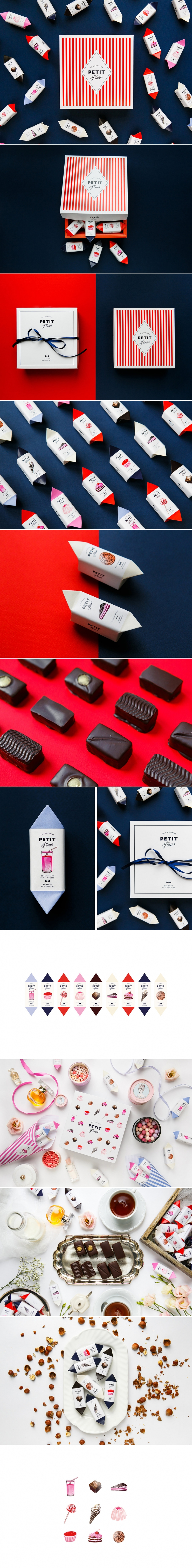 Petit Plaisir Chocolates — The Dieline | Packaging & Branding Design & Innovation News