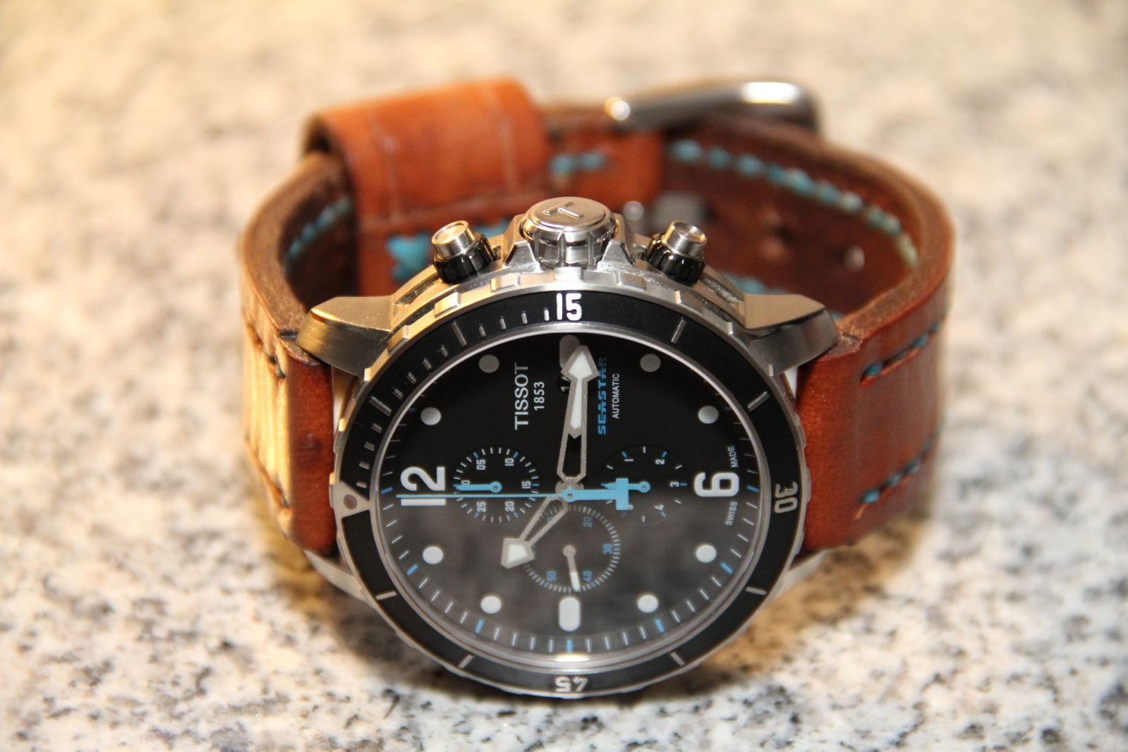 b1f748e6a86 FS  Tissot Seastar 1000 Chronograph - w  bracelet