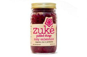 Ruby Calendula pickle by zuké   Fermented foods, Nutella