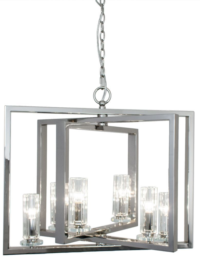 RV Astley Saturn 6 Arm Nickel Angled Chandelier  sc 1 st  Pinterest & RV Astley Saturn 6 Arm Nickel Angled Chandelier | R V Astley ... azcodes.com