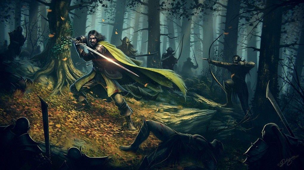 Death of Boromir   Lor...