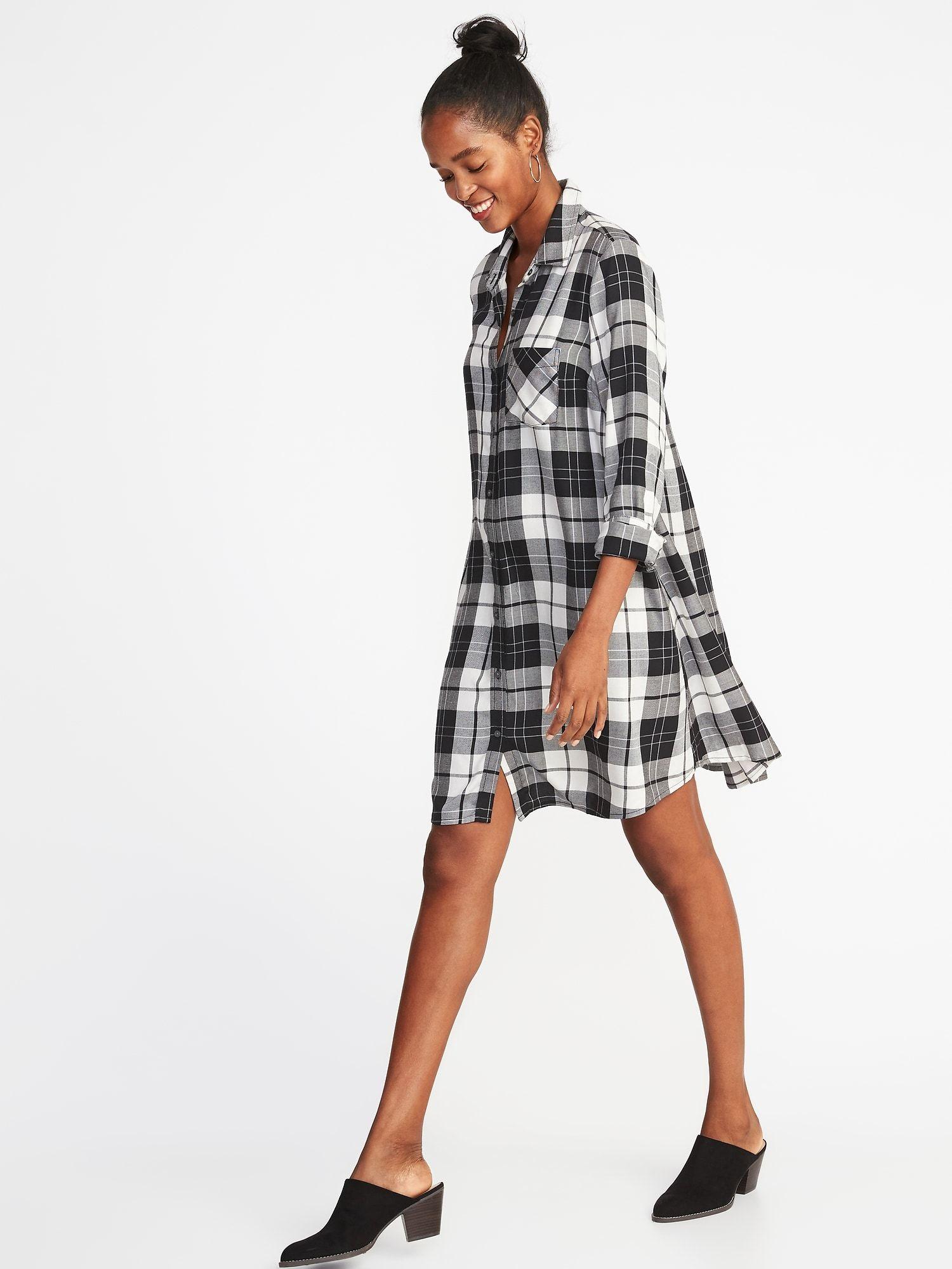 Product Photo Swing Shirt Dress Shirt Dress Navy Shirt Dress [ 2000 x 1500 Pixel ]