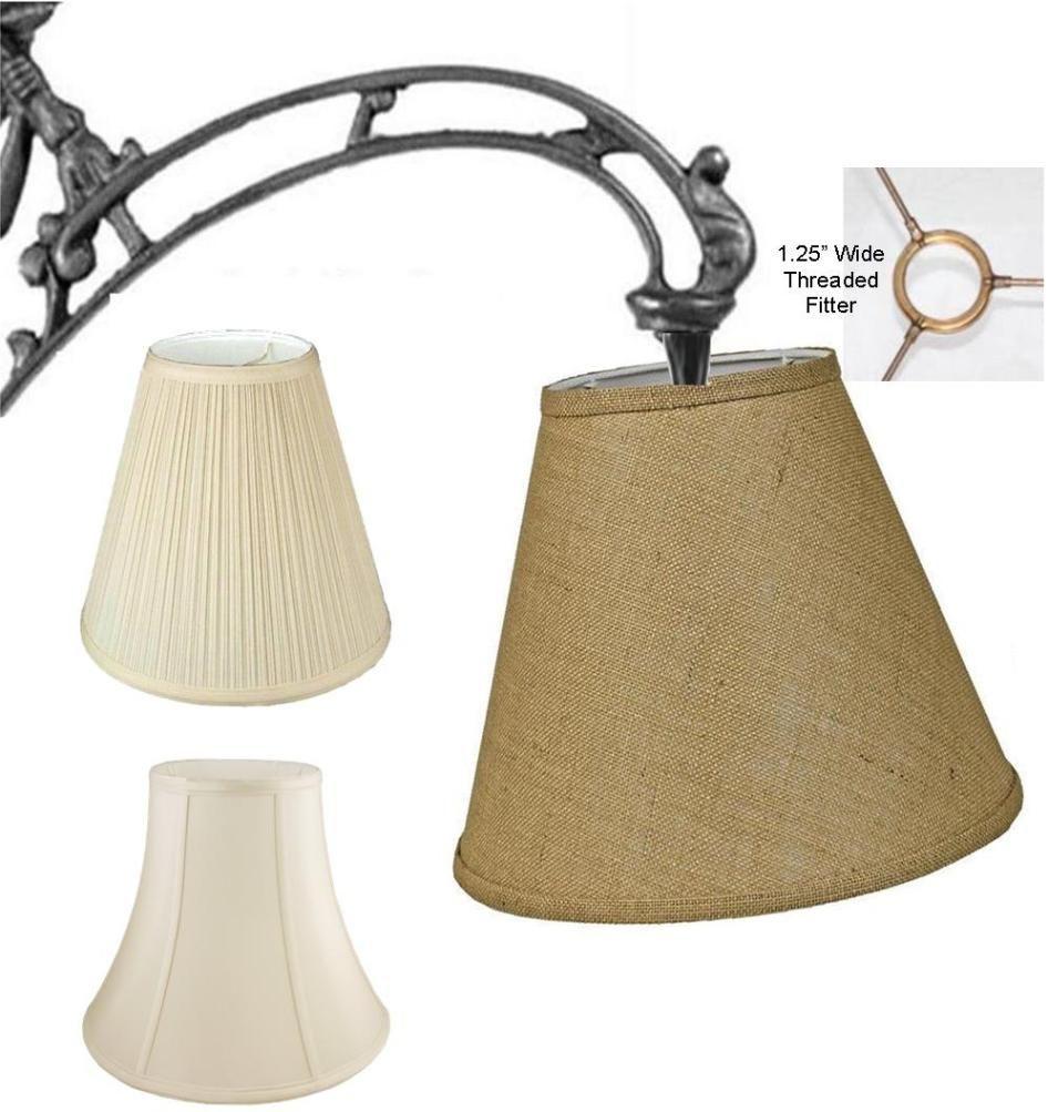 Marvellous Burlap Uno Floor Lamp Shade Pro Types Fittings Vintage