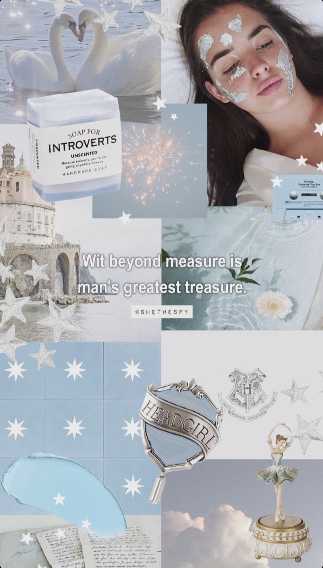 Pin by Cabellonkirsten on Wallpaper Ravenclaw aesthetic