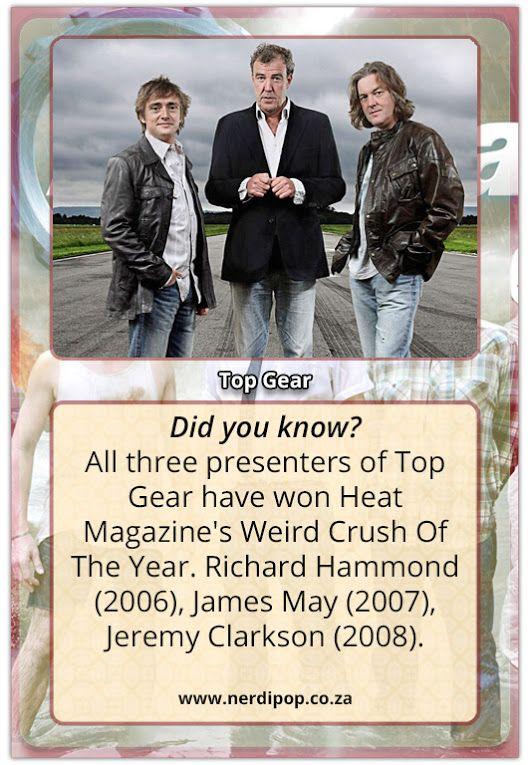 Top Gear Top Gear Jeremy Clarkson James May