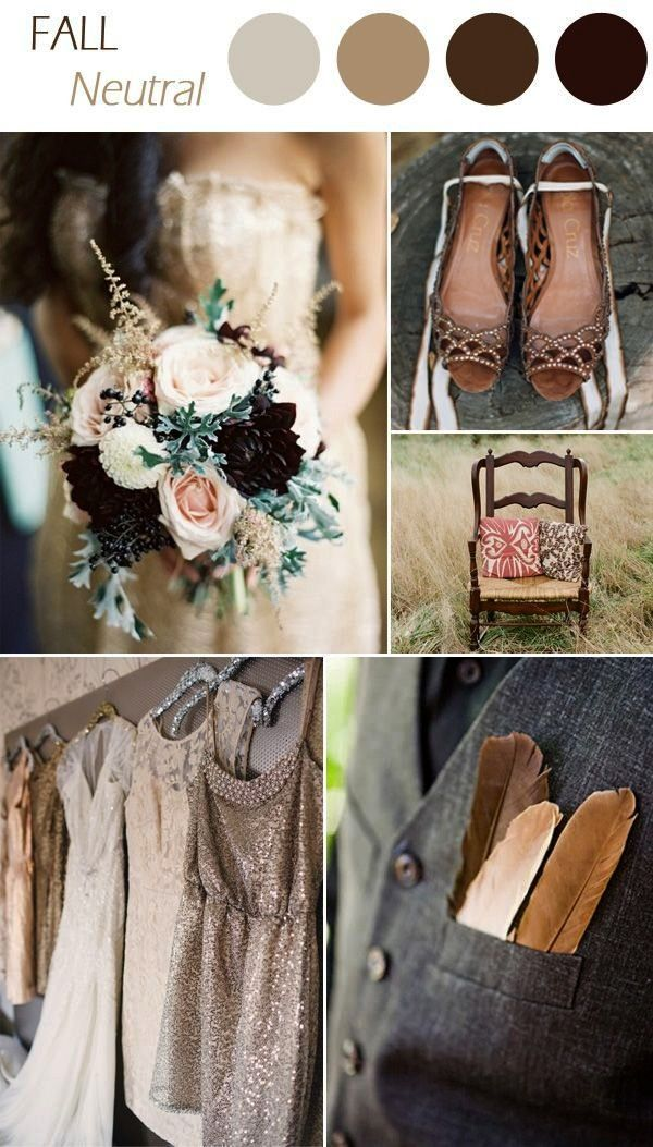 #practical #trending #neutral #wedding #colors #combos #ideas #color #2015 #fall #for #62015 trending neutral wedding colors for fall wedding ideas fall wedding 6 Practical Wedding Color Combos for Fall 20152015 trending neutral wedding colors for fall wedding ideas fall wedding 6 Practical Wedding Color Combos for Fall 2015  country rustic neutral fall wedding colors for 2016  Delicate Lace Bridal Gowns Sweetheart Chiffon A-line Wedding Dresses WD186  Burgundy is one of our favorite wedd...