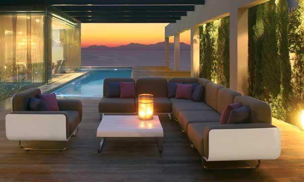 Cómo iluminar el exterior | Iluminación exterior, Noche de verano y ...