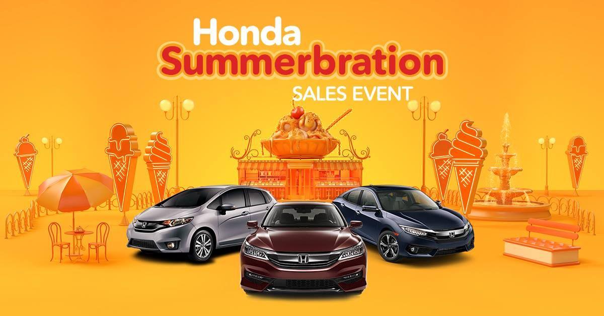 Sweeten Summer With A Deal Join Us At Rensselaer Honda For The Honda Summerbration Sales Event Https Www Rensselaerhonda Com L Lease Specials Honda Special
