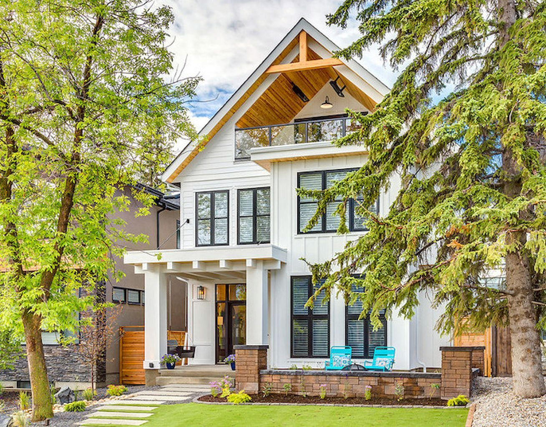 75 aesthetic farmhouse exterior design ideas | house, exterior