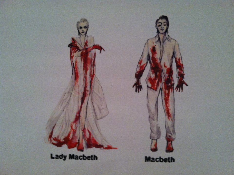 Character Analysis For Costume Design : Lady macbeth and costume sketches by catherine
