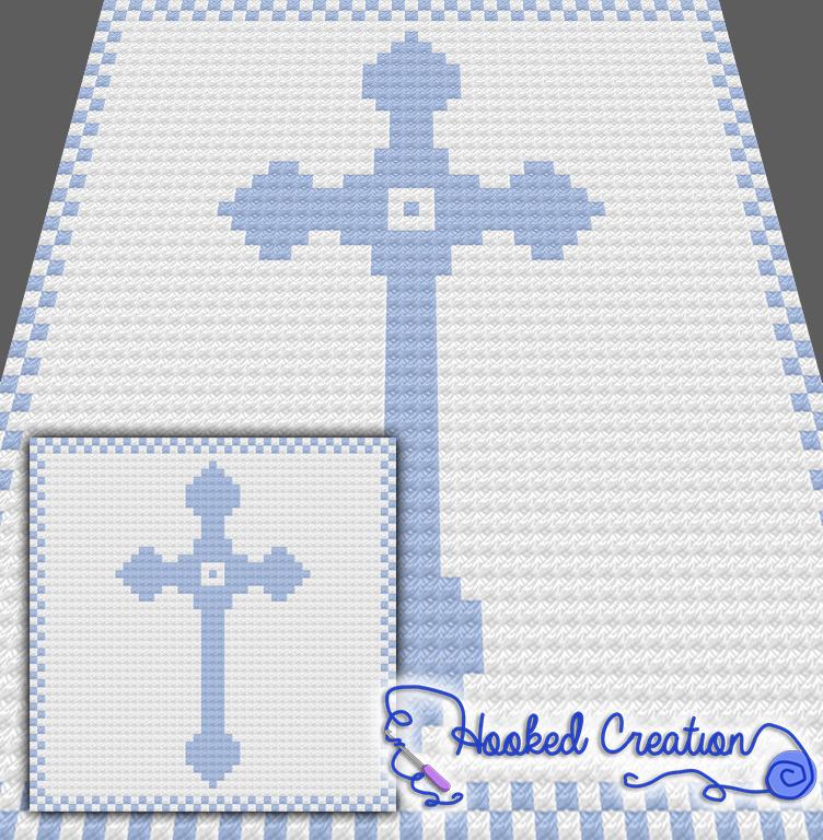 Cross Baby C2C Baby Blanket Crochet Pattern - PDF Download   crochet ...