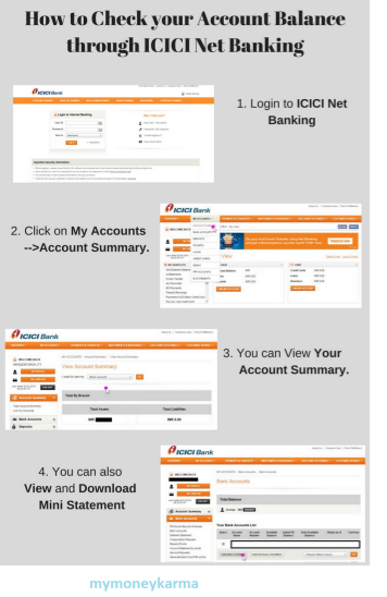 Login To Icici Net Banking And Check Your Account Balance Mymoneykarma Published By Mymoneysrikanth On Edocr Banking Accounting Login