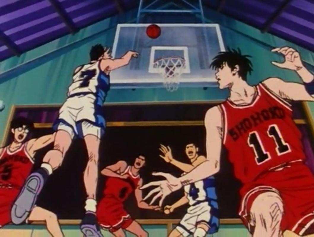 Shōhoku Vs Ryonan Slam Dunk By Takehiko Inoue Shohoku Ryonan Sendo Rukawa Kogure Akagi Idontknow Basket Slamdunk A Slam Dunk Manga Slam Dunk Dunk