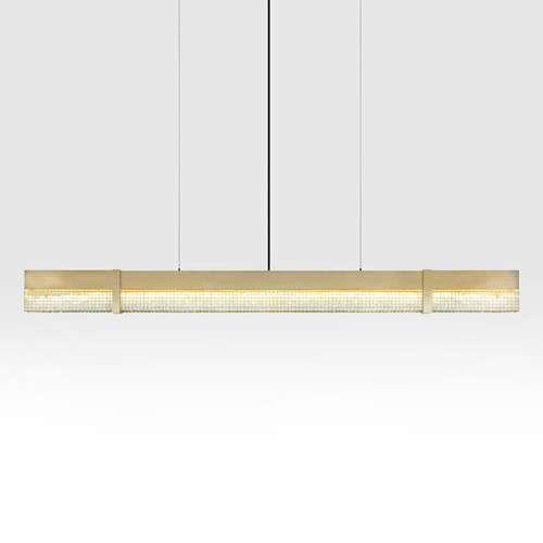 linear pendant lighting. level crush led linear pendant light lighting