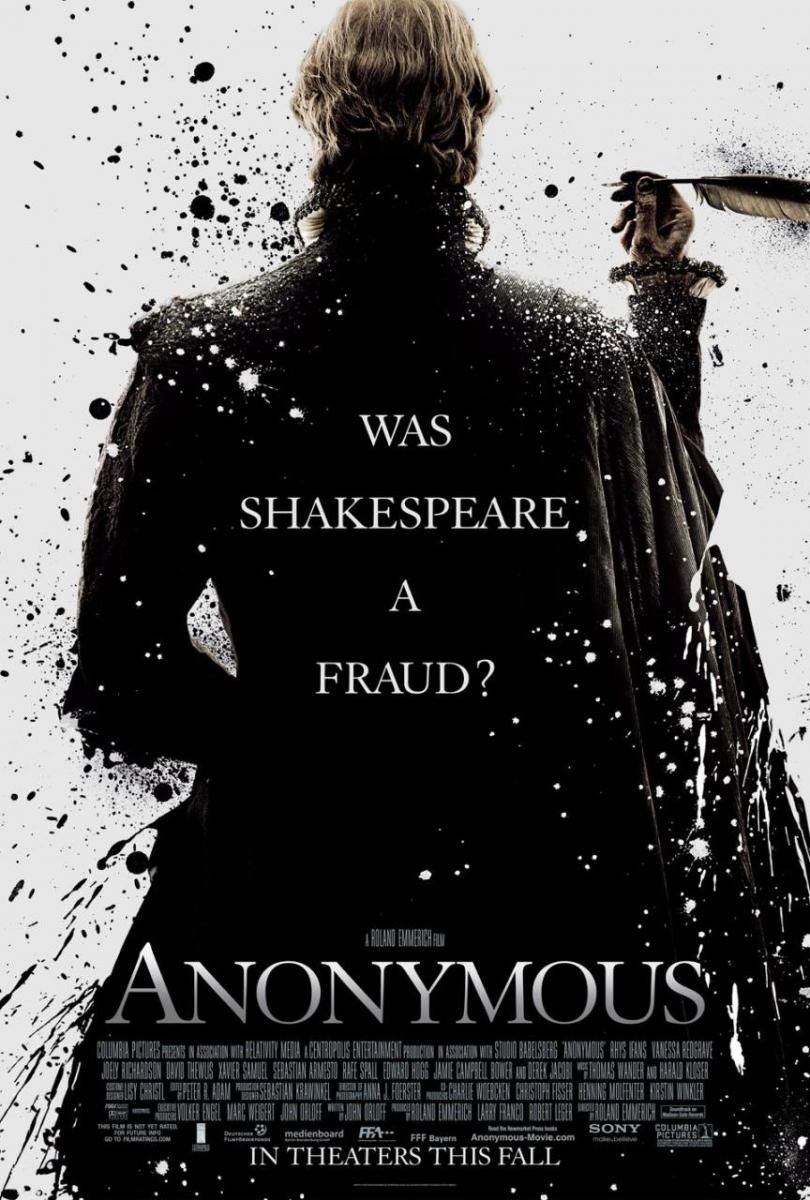 Anonymous 2011 Peliculas De Drama Cine Musica Libros Peliculas