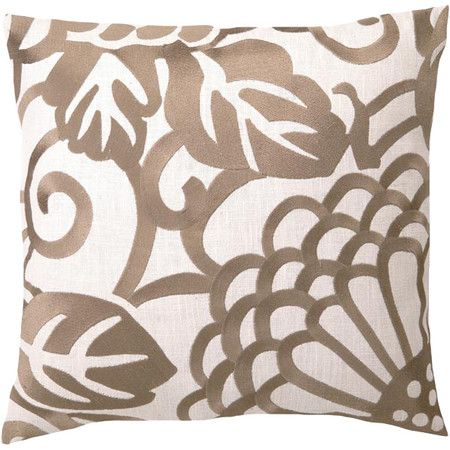 Bring effortless luxe and luster to your home with this beautifully crafted pillow, perfect as an eye-catching statement piece or composed as a glamorous vig...