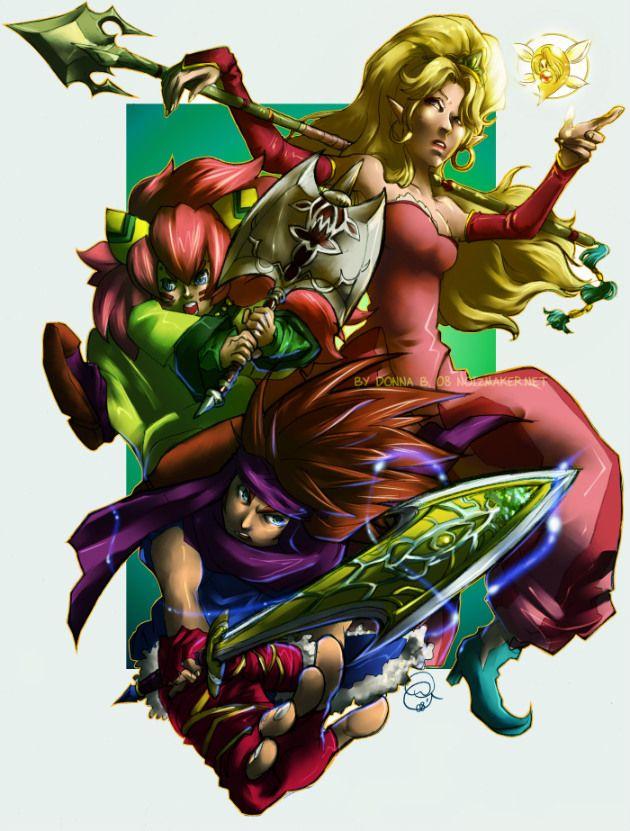 Secret of Mana Heroes by karniz