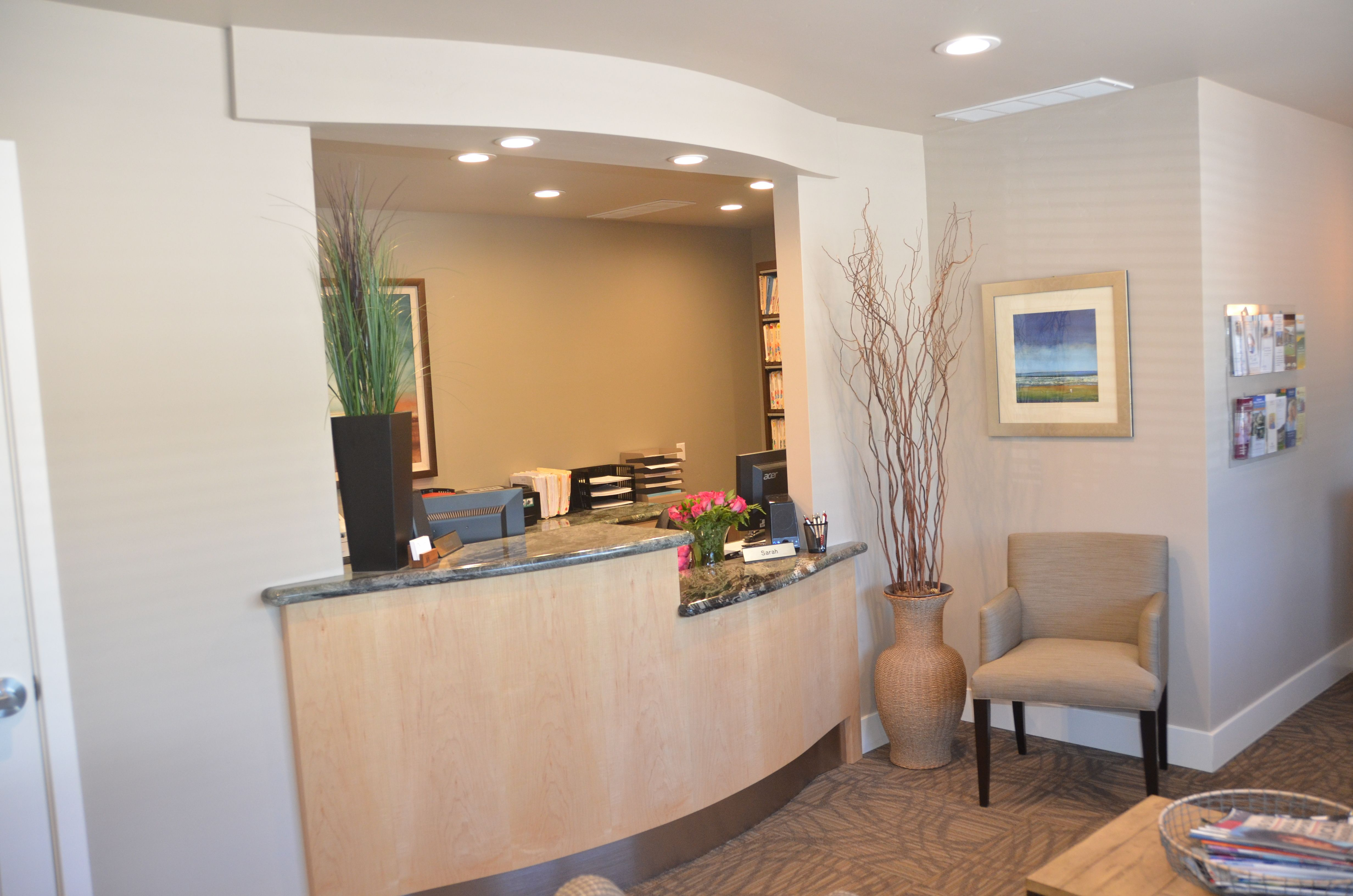 Cabinet Crafters, Inc. – Doctor Office Waiting Room