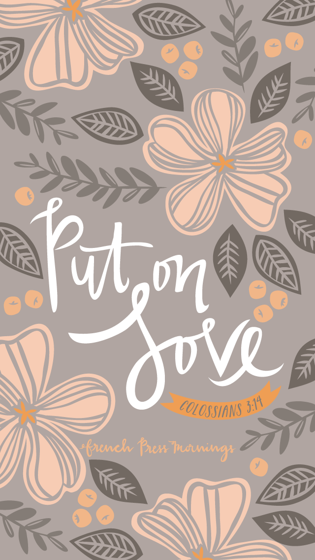 Put on love. Good Quotes, Bible Verse Wallpaper, Bible Verses Quotes, Bible Scriptures, Art Quotes