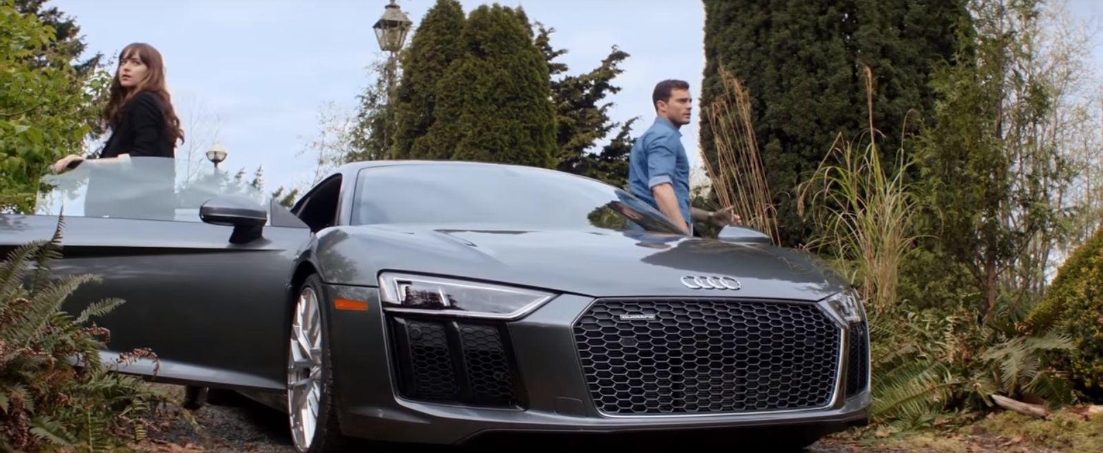 Christian Grey S Audi R8 Spyder In Fifty Shades Freed Audi R8 Spyder Fifty Shades Fifty Shades Freed