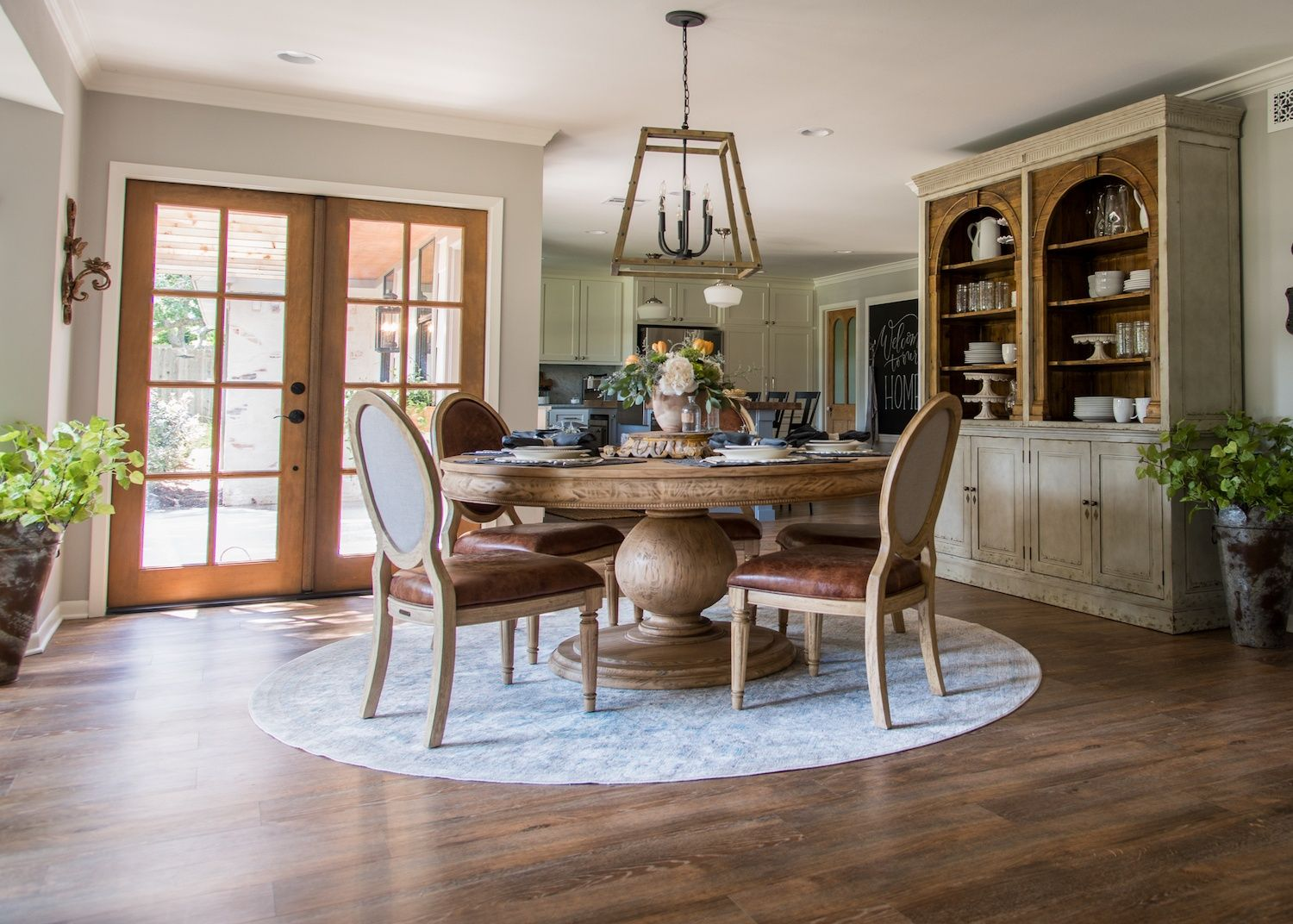Joanna Gaines Farmhouse Dining Room Episode 11 The Prickly Pear House In 2019 Fixer Upper