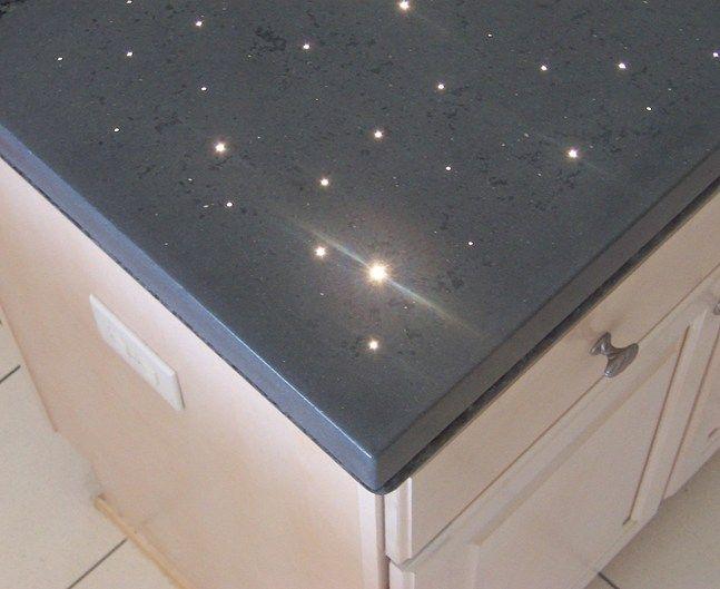 Lighting illuminated concrete countertops concrete for Countertop lighting